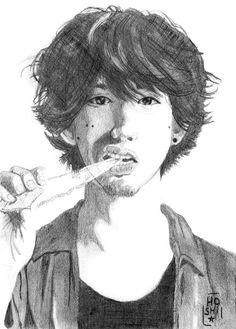 # Illustration - Fanart Taka One Ok Rock - 2015 (pencil)