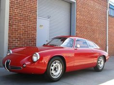 1962 Alfa Romeo Giulietta Sprint Zagato II
