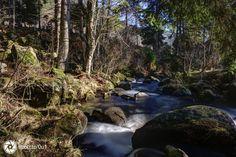Die Menzenschwander Alb in der Nähe der Menzenschwander Wasserfälle…