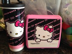 BRAND NEW TUPPERWARE HELLO KITTY LUNCH SET