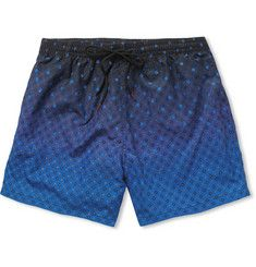 Paul Smith Shoes & Accessories Printed Mid-Length Swim Shorts | MR PORTER