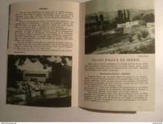 JUGOSLAVIJA SRBIJA. SERBIA - YUGOSLAVIA (REPUBLIQUE POPULAIRE DE SERBIE), 1950 APROX. 16 PAGE BROCHURE. B/W PHOTOS. - Dépliants Turistici