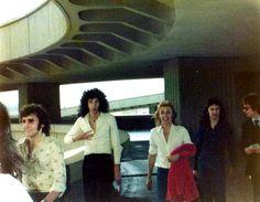 Brian May, Roger Taylor and John Deacon.