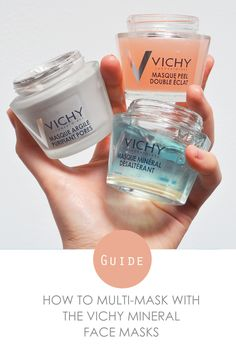 Choose the perfect face mask with our guide to the new Vichy Mineral Masks: http://www.escentual.com/blog/2016/07/12/vichy-masks-multimasking-heroes