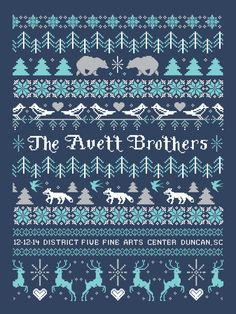 The Avett Brothers | 12.12.14, District Five Arts Center, Duncan, SC #there