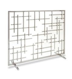 Main image for Contemporary Single Panel Summer Decorative Fireplace Screen