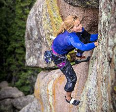 Pamela Pack does the first ascent of bob Scarpelli's route, Jihad, Vedauwoo