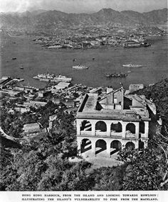 Naval Dockyard & Kowloon-1949 Old Pictures, Old Photos, British Hong Kong, China Hong Kong, Happy Valley, Those Were The Days, Vintage Photographs, The Past, History