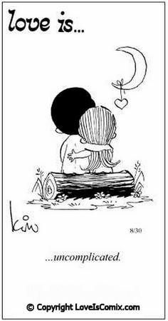 Love is... Comic Strip