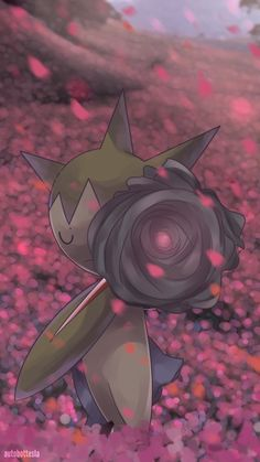 Day 597 - Roselia (Shiny) by AutobotTesla on DeviantArt Pokemon Go, Grass Type Pokemon, Pokemon Fan Art, Cool Pokemon, Pokemon Cards, Pokemon Stuff, Pokemon Images, Pokemon Pictures, Equipe Pokemon