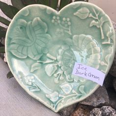 Glazes For Pottery, Ceramic Pottery, Amaco Glazes, Hand Built Pottery, New Hobbies, Clay Projects, Serving Bowls, Electric, Hearts