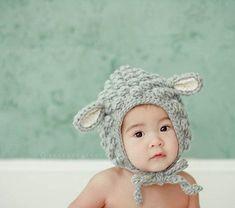bebek örgü şapka modeli 2017