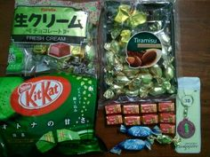 gift from japan & singapore. danke!