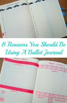8 Reasons You Should Be Using a Bullet Journal - a bullet journal had changed my life, and yes, I am now addicted to mine! From being good for your health to saving you money, these are 8 reasons to start one yourself today