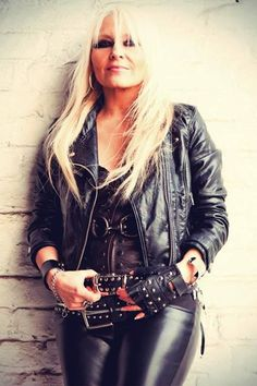 Doro Pesch- love her Heavy Metal style!