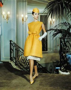 1960's yellow Dior.