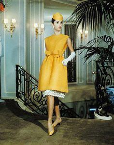 1960's yellow Dior.