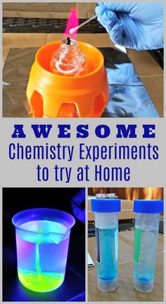 17 Chemistry Experiments for Kids & Teens – these are great for middle school and high school! FUN experiments that include chemical reactions, glow in the dark science, states of matter & more! - Kids education and learning acts Chemistry Cat, Chemistry Classroom, High School Chemistry, Organic Chemistry, Chemistry Drawing, Chemistry Tattoo, Kitchen Chemistry, Science Crafts, Science Activities For Kids