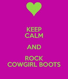 Finally someone agrees that you can wear cowgirl boots with a lot of things and still look cute!!!!