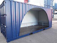 Container hangout, robuust en stoer
