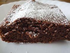 Torta caprese. Ver receta: http://www.mis-recetas.org/recetas/show/41239-torta-caprese