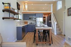 This cottage packs a lot into 399 square feet.