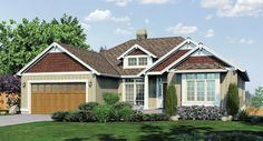 This 1 story Craftsman features 2811 sq feet. Call us at 866-214-2242 to talk to a House Plan Specialist about your future dream home!