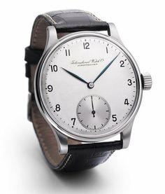 IWC Uhren - Feinste #herrenuhren aus Schaffhausen http://herrenuhren24.net/uhrenmarken/iwc-uhren-herren/ - #iwc