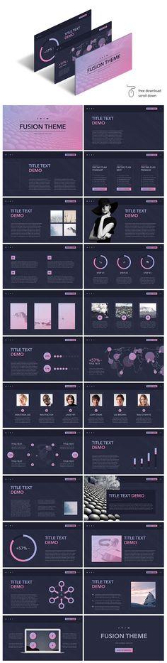 84 best free presentation templates images on pinterest