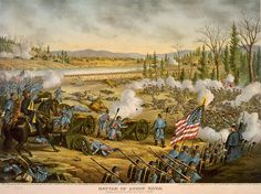 A Bloody New Year Battle of Stones River In The American Civil War. I've spent some time at this battlefield. It's almost hair raising in the quite moments, you just know something bad happened here.