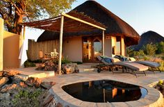NGOMA SAFARI LODGE on Design Locations. Ngoma Safari Lodge is a five-star safari accomodation located within the Chobe Forest Reserve in Northern Botswana, bordering the western edge of Chobe National Park and offering panoramic views of the Chobe River and Caprivi Flood plains. Guests have the opportunity to see the famous Chobe elephants..