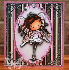 Princess Stamp   Fairy Stamp   Digital Stamps   Tiddly Inks