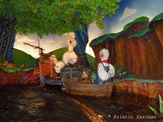 Ride along on a trip through Disney World's Splash Mountain's log flume ride,  Splash Mountain, Walt Disney World, Magic Kingdom, Thrill Rides, Br'er Rabbit
