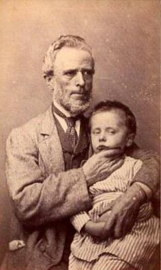 Victorian postmortem photography... Memento mori.  Undecided as to whether this is post-mortem or not.
