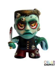 Barnacle Duke custom octopus GI Joe zombie figure by bryancollins, $85.00
