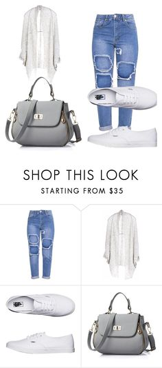 """""""Untitled #1"""" by elzinasoftic ❤ liked on Polyvore featuring Paychi Guh and Vans"""
