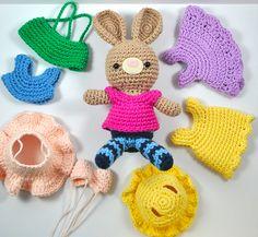 Ravelry: Little Bunny's Wardrobe pattern by Amy's Gurumis