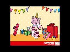 Kinderliedjes Jumper De diersuper - Kinderliedje De kop van de kat is jarig