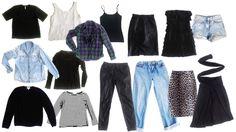 Building a Minimalist Wardrobe: 15-PIECE WARDROBE, 50 OUTFITS!