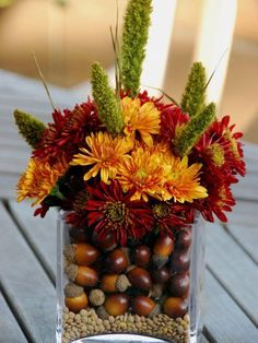 25 Fall Flower Arrangements, Thanksgiving Table Centerpieces and Fall Decorations – DECOR FOR ALL Interior Styles, Home Decor Ideas, Decorating Themes Ikebana, Thanksgiving Table Centerpieces, Wedding Centerpieces, Centerpiece Ideas, Autumn Centerpieces, Thanksgiving Ideas, Flower Centerpieces, Wedding Decorations, Thanksgiving Countdown