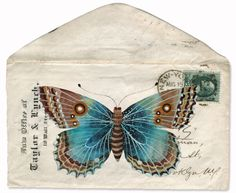 Watercolour on paper & digital collage by Geninne. She has a wonderful blog: http://blogdelanine.blogspot.com/