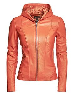 Danier, leather fashion and design.  Simple leather jacket and nice color for all seasons!