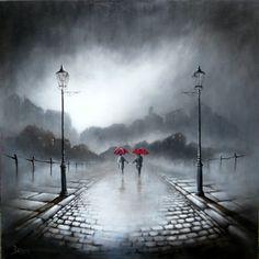 """""""Love in the Rain"""" by Bob Barker"""