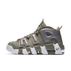 cheap for discount cdf44 fdd28 Nike Air More Uptempo Womens Shoe Size 10.5 (Grey) Nike Damen, Polyvore  Outfits