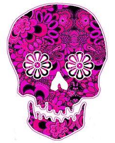 skull painting skull wall art skull pop abstract by artkunzelman, $19.00