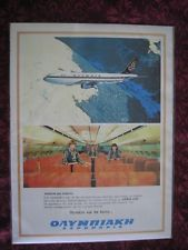 olympic airways posters