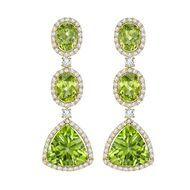 Zesty green peridot jewellery: gemstone of the hot summer season