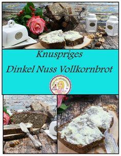 Dinkel Nuss Vollkornbrot