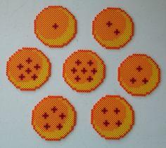 DBZ Balls Perler Beads by kamikazekeeg