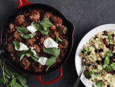 Kødboller i tomatsauce med couscous | SPIS BEDRE
